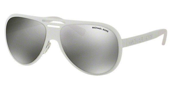 Michael Kors Damen Sonnenbrille »CLEMENTINE I MK5011« in 11236G - weiß/silber