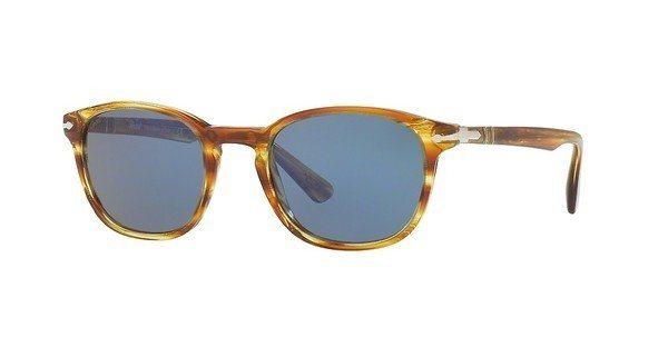 Persol Herren Sonnenbrille » PO3148S« in 904356 - braun/blau