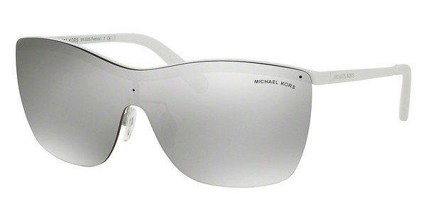 Michael Kors Damen Sonnenbrille »PAPHOS MK5005« in 11236G - weiß/silber