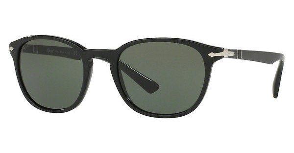 Persol Herren Sonnenbrille » PO3148S« in 901431 - schwarz/grün