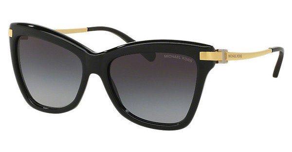 Michael Kors Damen Sonnenbrille »AUDRINA III MK2027« in 317111 - schwarz/grau