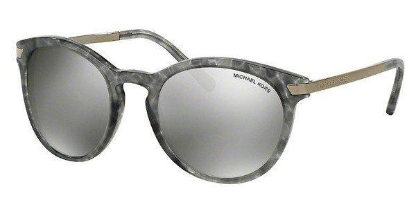 MICHAEL KORS Michael Kors Damen Sonnenbrille »ADRIANNA III MK2023«, braun, 330271 - braun/grün
