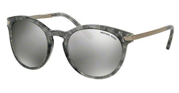 Michael Kors Damen Sonnenbrille »ADRIANNA III MK2023« in 31616G - grau/silber