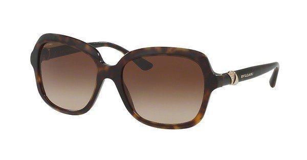 Bvlgari Damen Sonnenbrille » BV8176B« in 504/13 - braun/grau