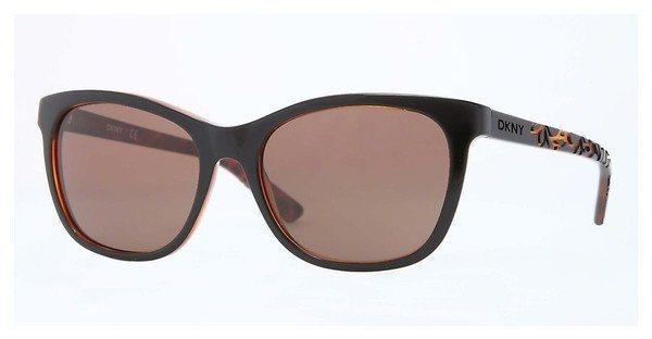DKNY Damen Sonnenbrille » DY4115« in 363973 - schwarz/braun