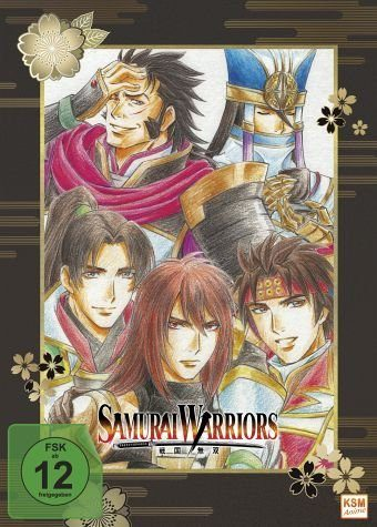 DVD »Samurai Warriors, Ep. 01-06«