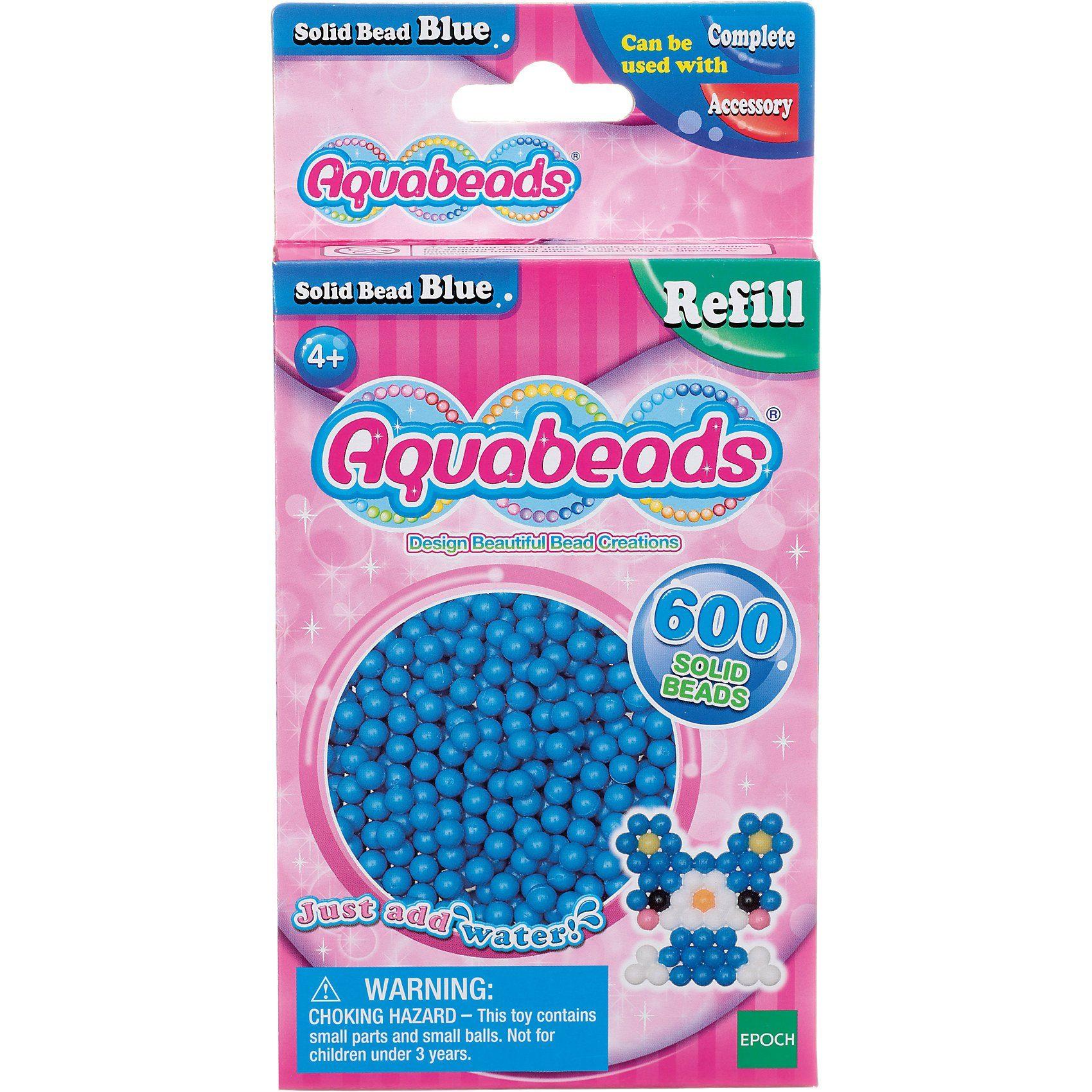 Epoch Traumwiesen Aquabeads Nachfüllpack Blaue Perlen