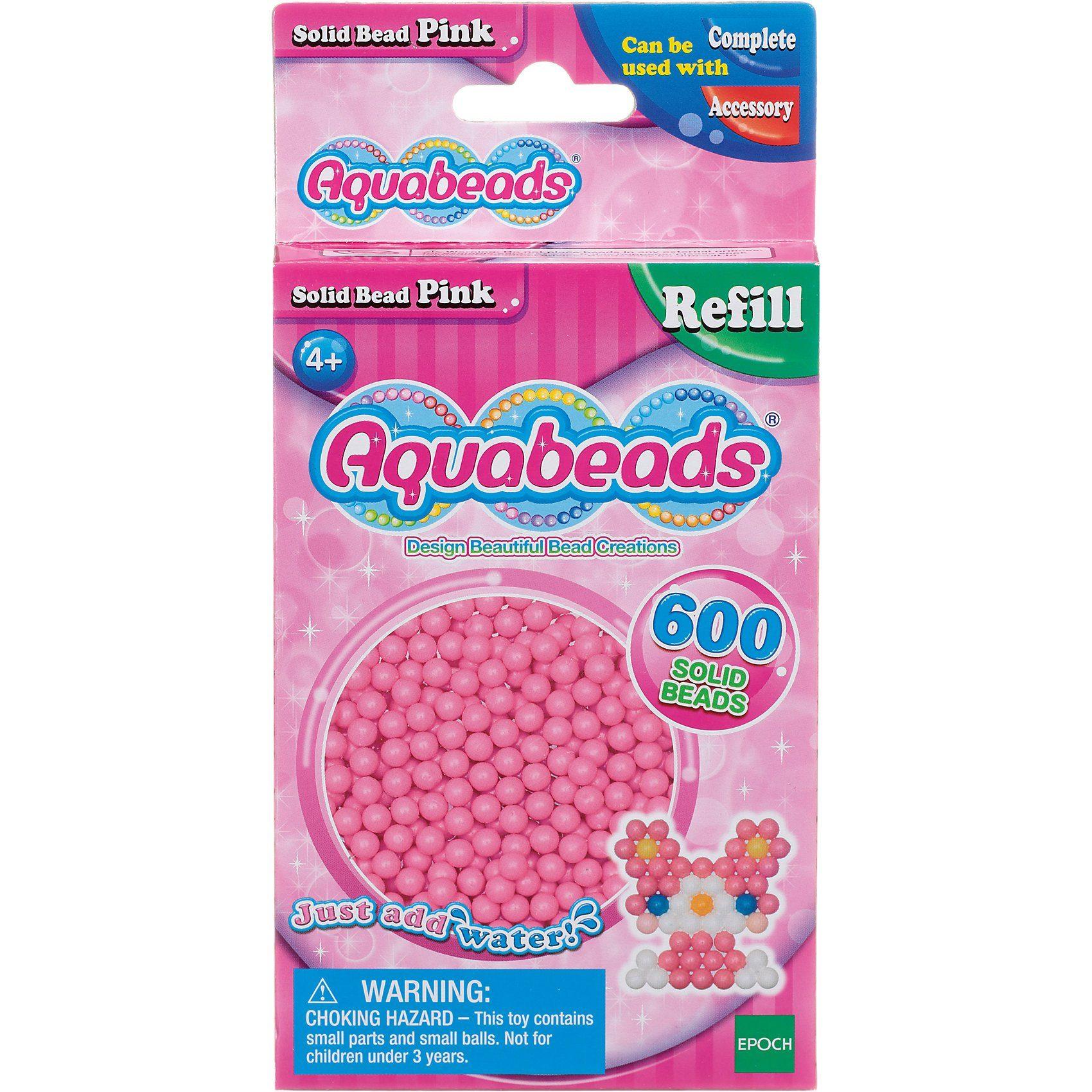 Epoch Traumwiesen Aquabeads Nachfüllpack Pinke Perlen
