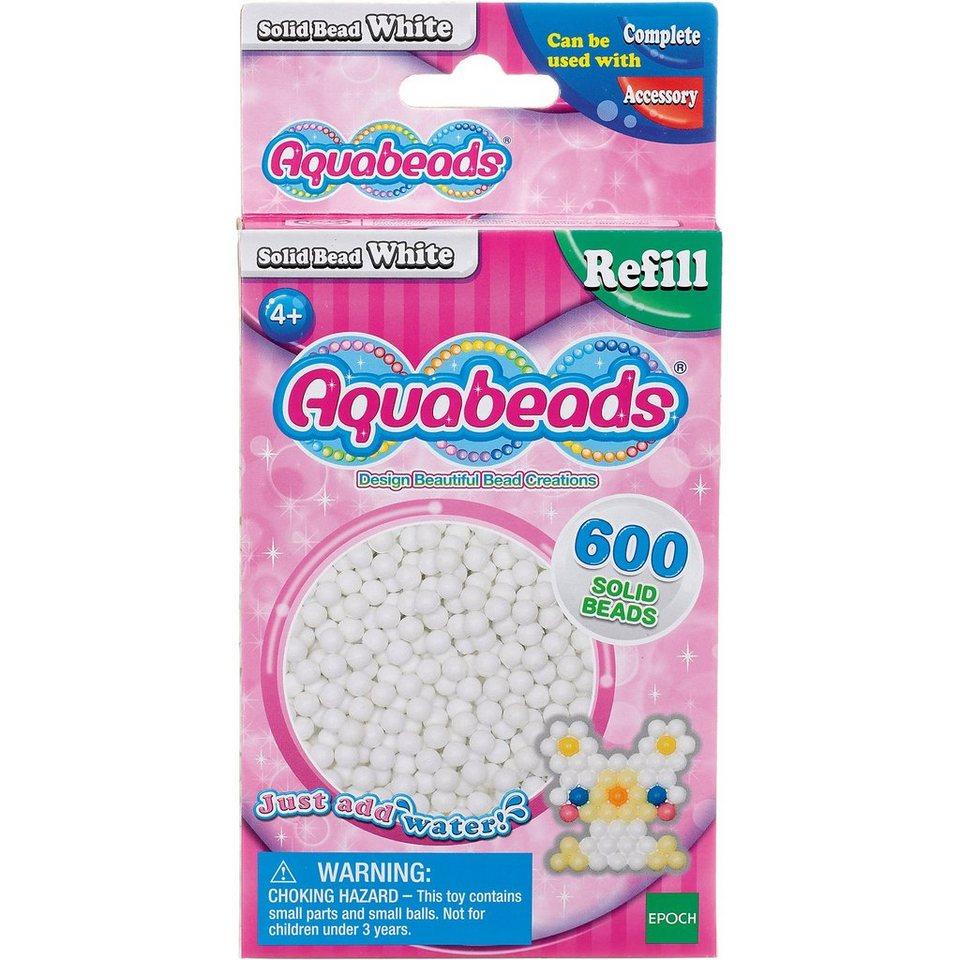 Epoch Traumwiesen Aquabeads Nachfüllpack Weiße Perlen