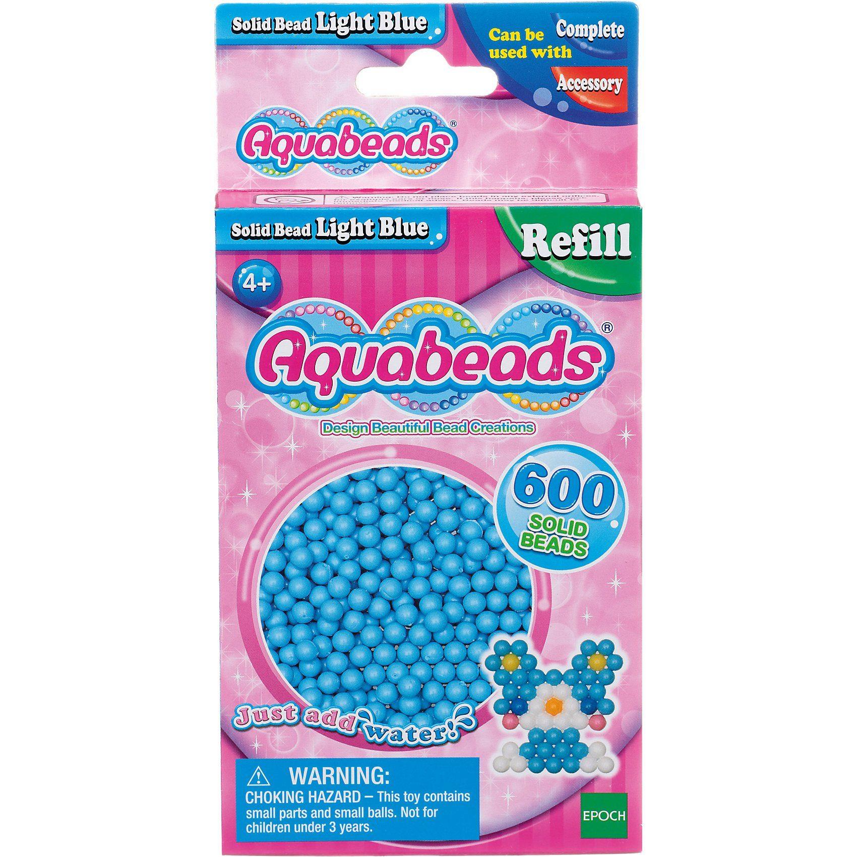 Epoch Traumwiesen Aquabeads Nachfüllpack Hell-Blaue Perlen