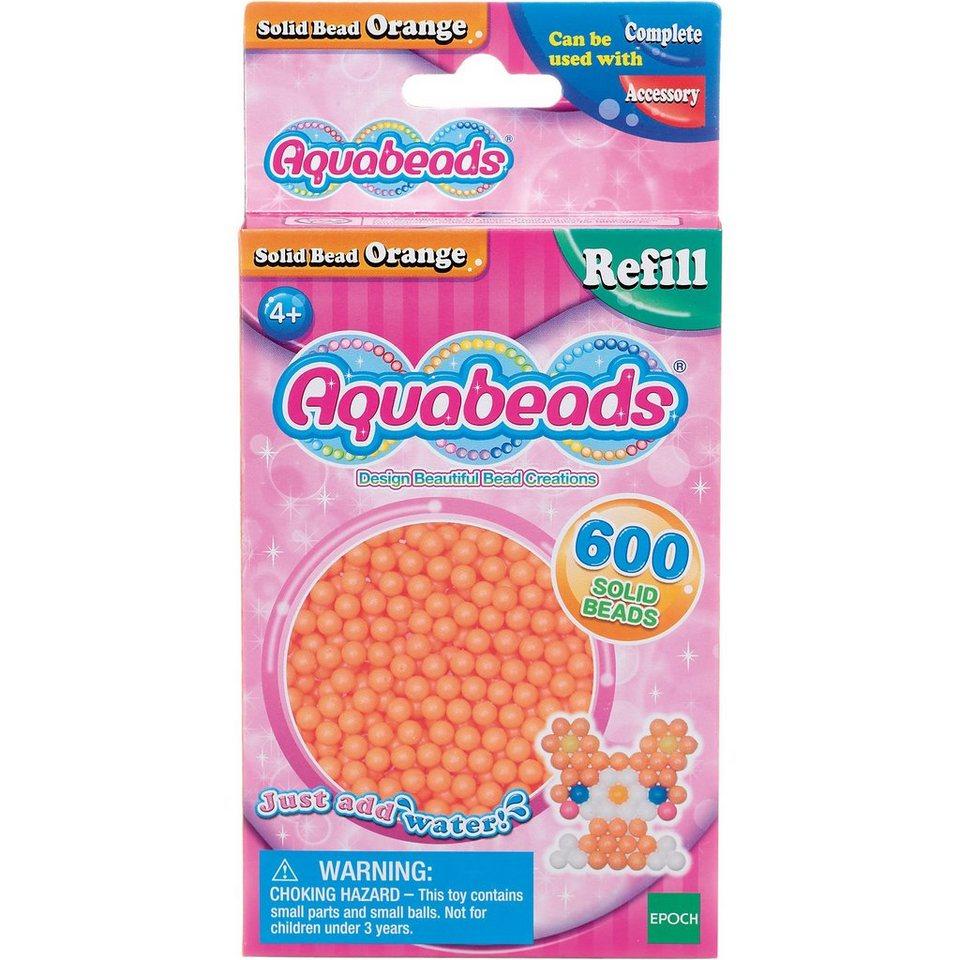 Epoch Traumwiesen Aquabeads Nachfüllpack Orange Perlen