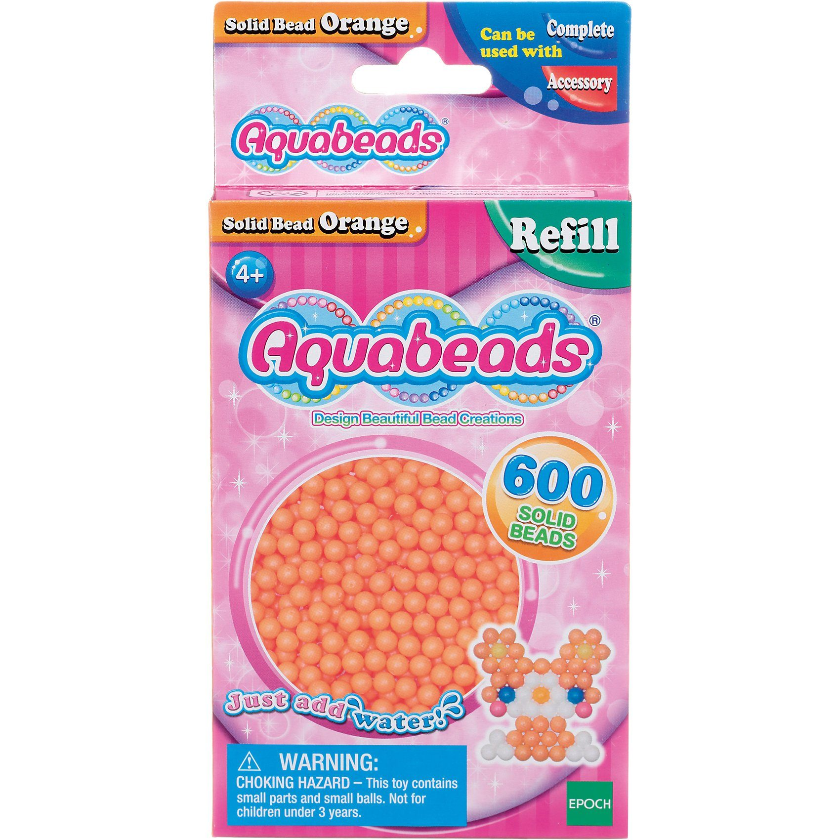 Epoch Traumwiesen Aquabeads Nachfüllpack Orange Perlen