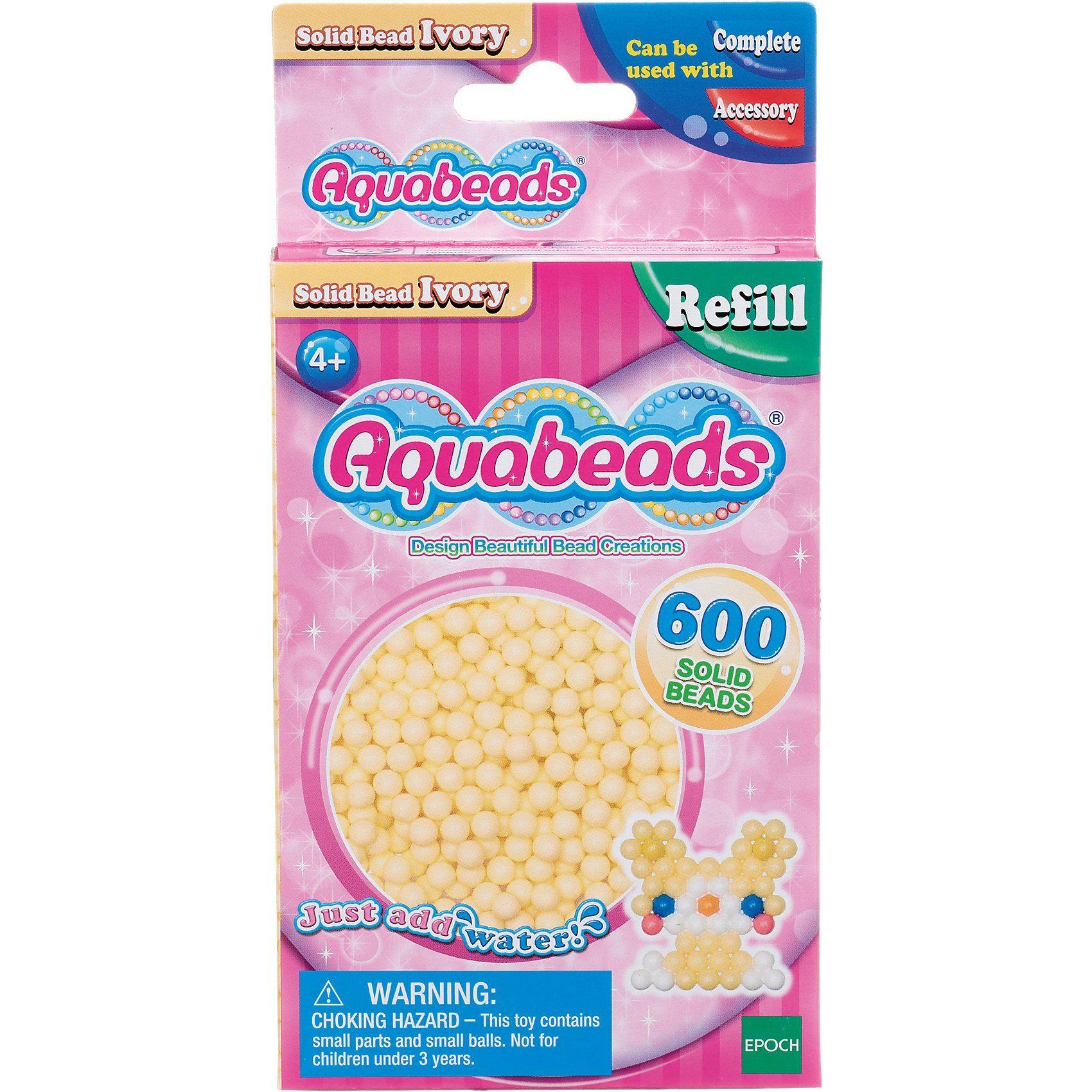 EPOCH Traumwiesen Aquabeads Nachfüllpack Hautfarbene Perlen