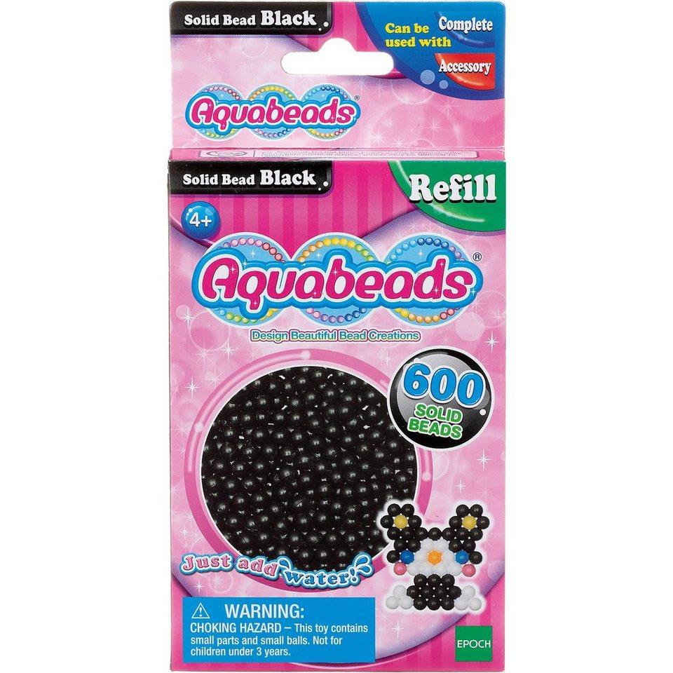 Epoch Traumwiesen Aquabeads Nachfüllpack Schwarze Perlen