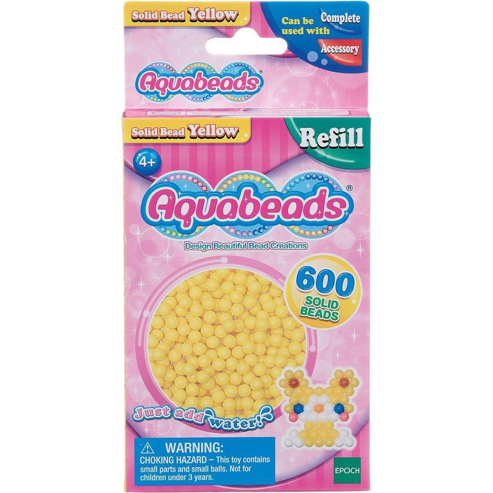 Epoch Traumwiesen Aquabeads Nachfüllpack Gelbe Perlen