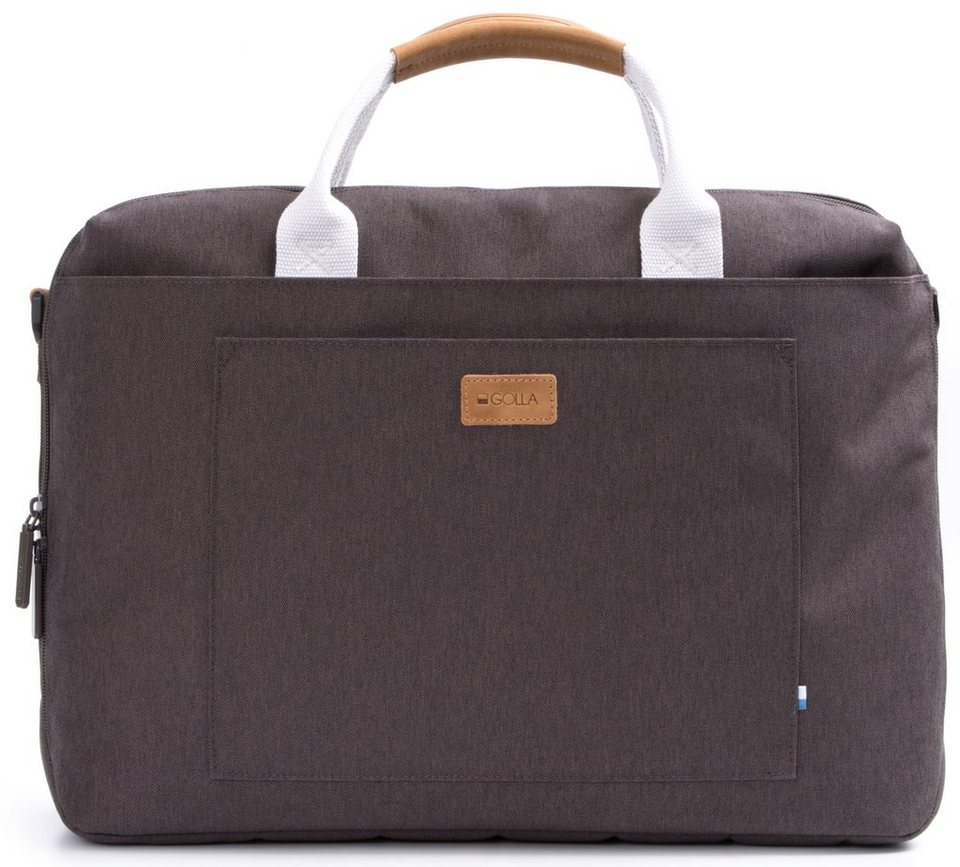 Golla Laptoptasche, »Subra 15 Zoll Mud« in mud