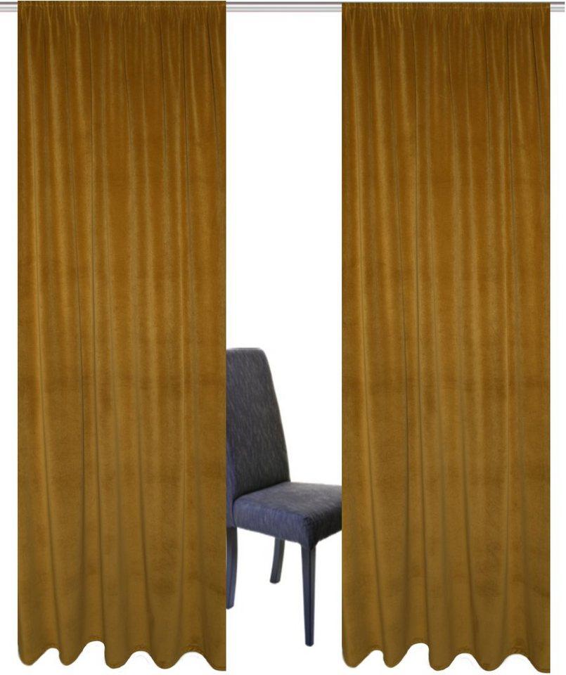 Vorhang aurino home wohnideen kr uselband 2 st ck - Home wohnideen gardinen ...