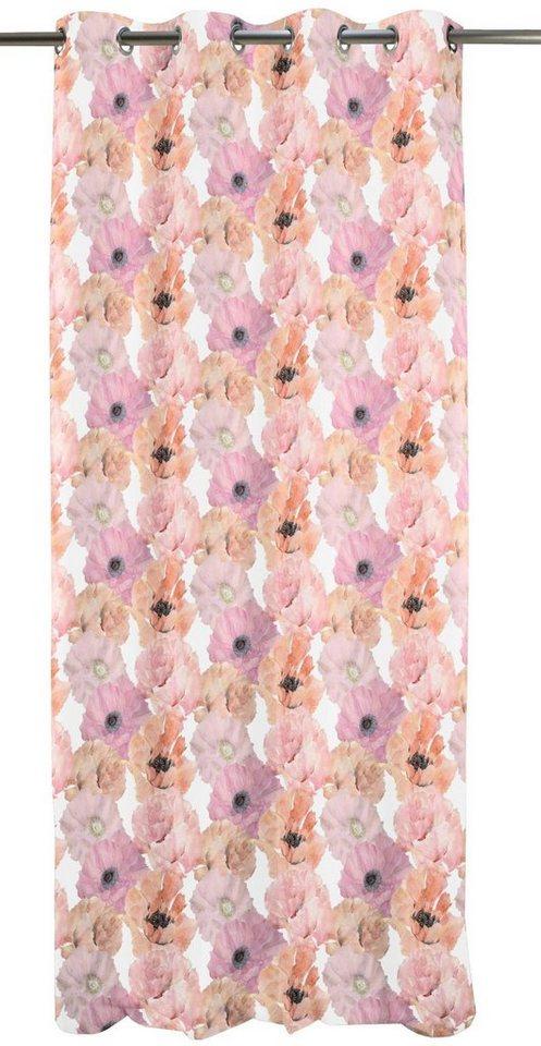 Vorhang, APELT, »5903«, mit Ösen (1 Stück) in rose