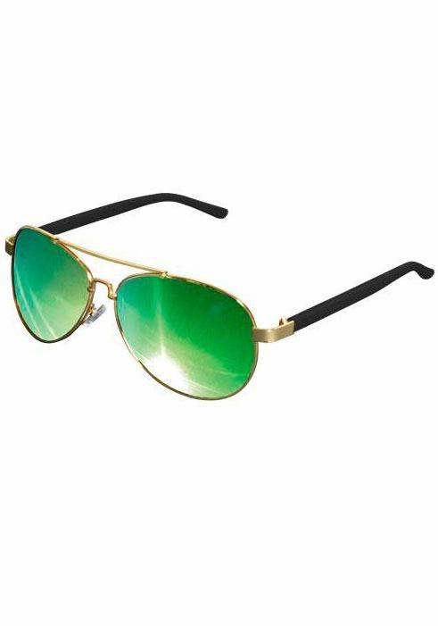 MasterDis Sonnenbrille im zeitlos coolen Look in goldfarben