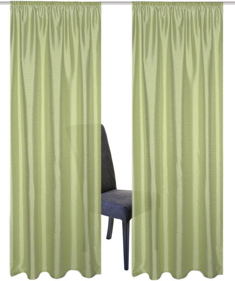 vorhang home wohnideen sarnias mit kr uselband 2 st ck online kaufen otto. Black Bedroom Furniture Sets. Home Design Ideas