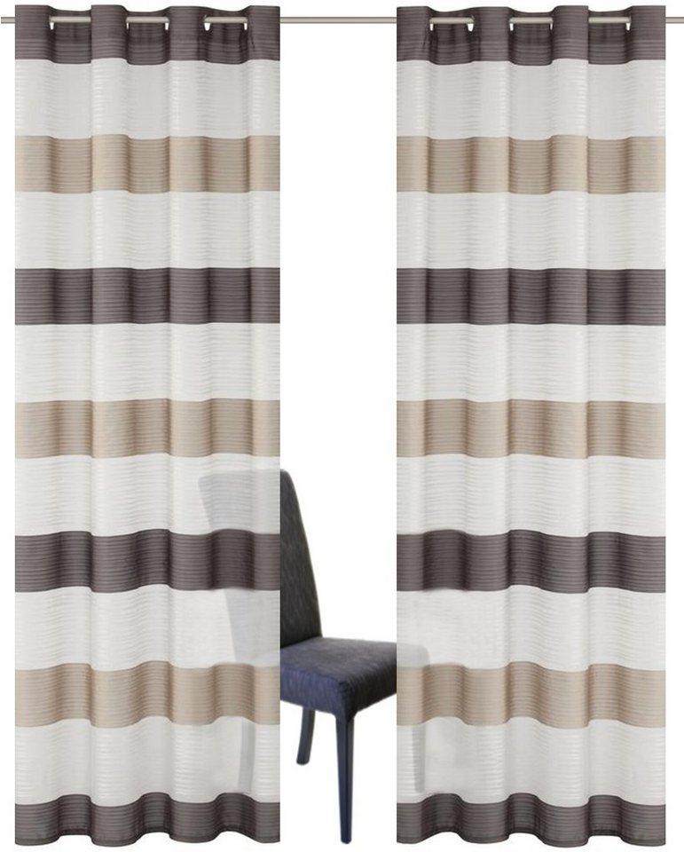 gardine sarnias home wohnideen kr uselband 2 st ck online kaufen otto. Black Bedroom Furniture Sets. Home Design Ideas