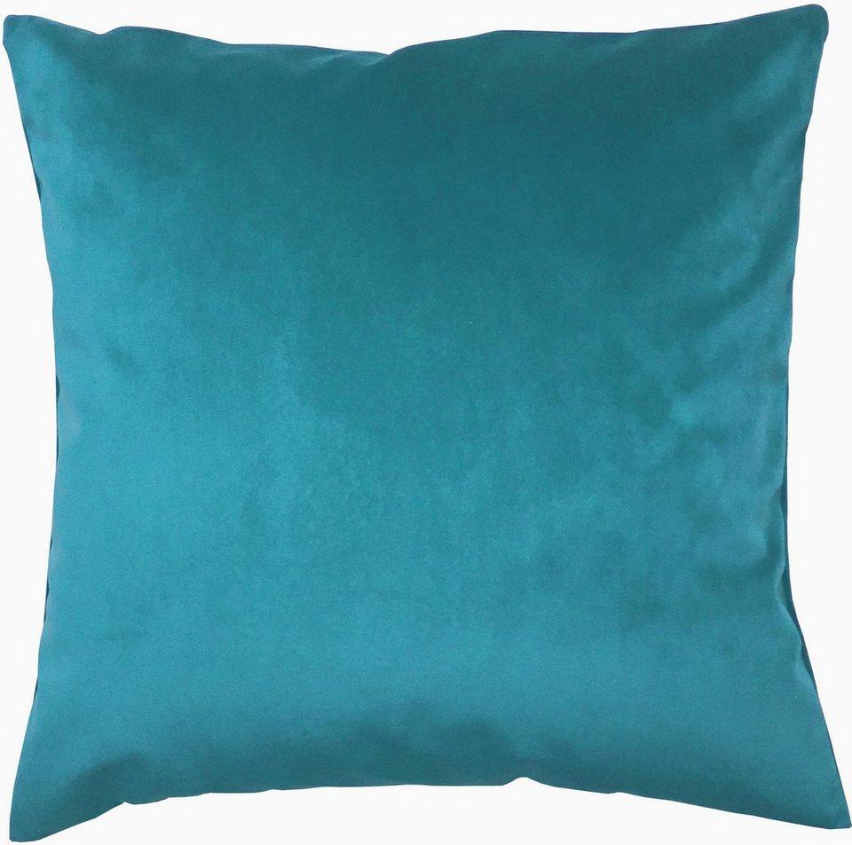 Kissenhüllen, Home Wohnideen, »AURINO« (2er Pack) in blau