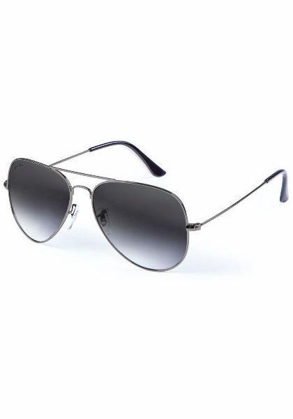 MasterDis Pilotenbrille mit verspiegelten Gläsern in grau