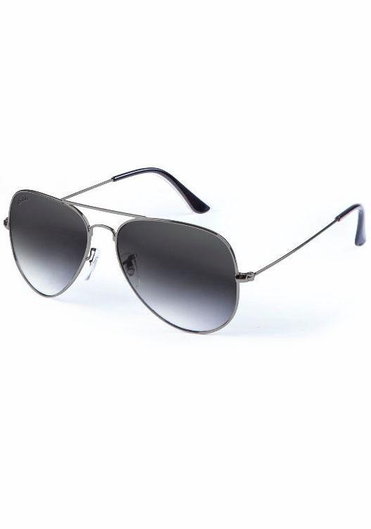 MasterDis Pilotenbrille mit verspiegelten Gläsern in anthrazit-grau