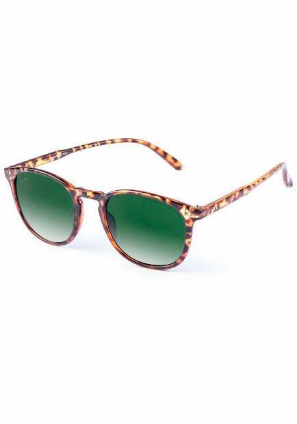 MasterDis Sonnenbrille mit verspiegelten Gläsern in braun-grün