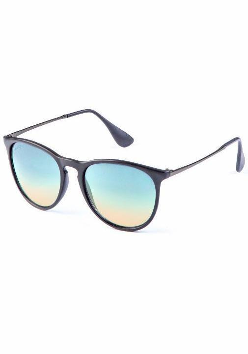 MasterDis Sonnenbrille mit verspiegelten Gläsern in schwarz-blau