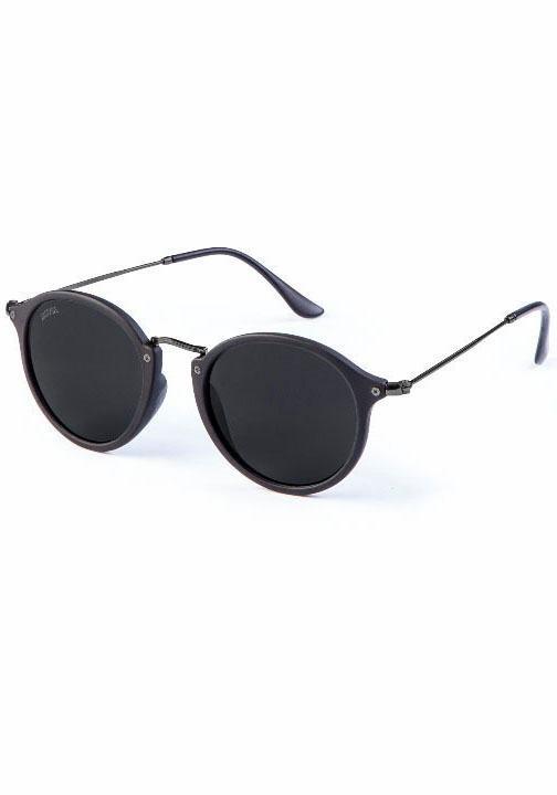 MasterDis Sonnenbrille mit verspiegelten Gläsern in schwarz-grau