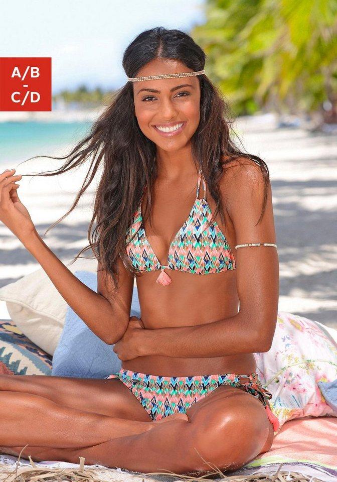 Triangel-Bikini, Venice Beach in mint-hummer