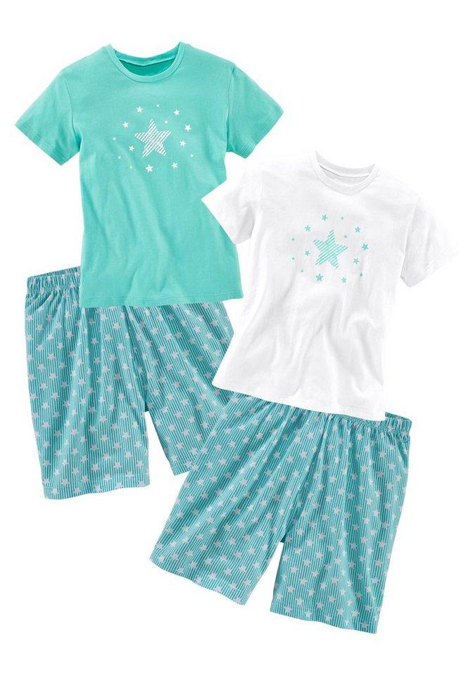 2bff1bd95db92 Petite Fleur Mädchen Shorty (2 Stück) mit Sterne Print online kaufen ...