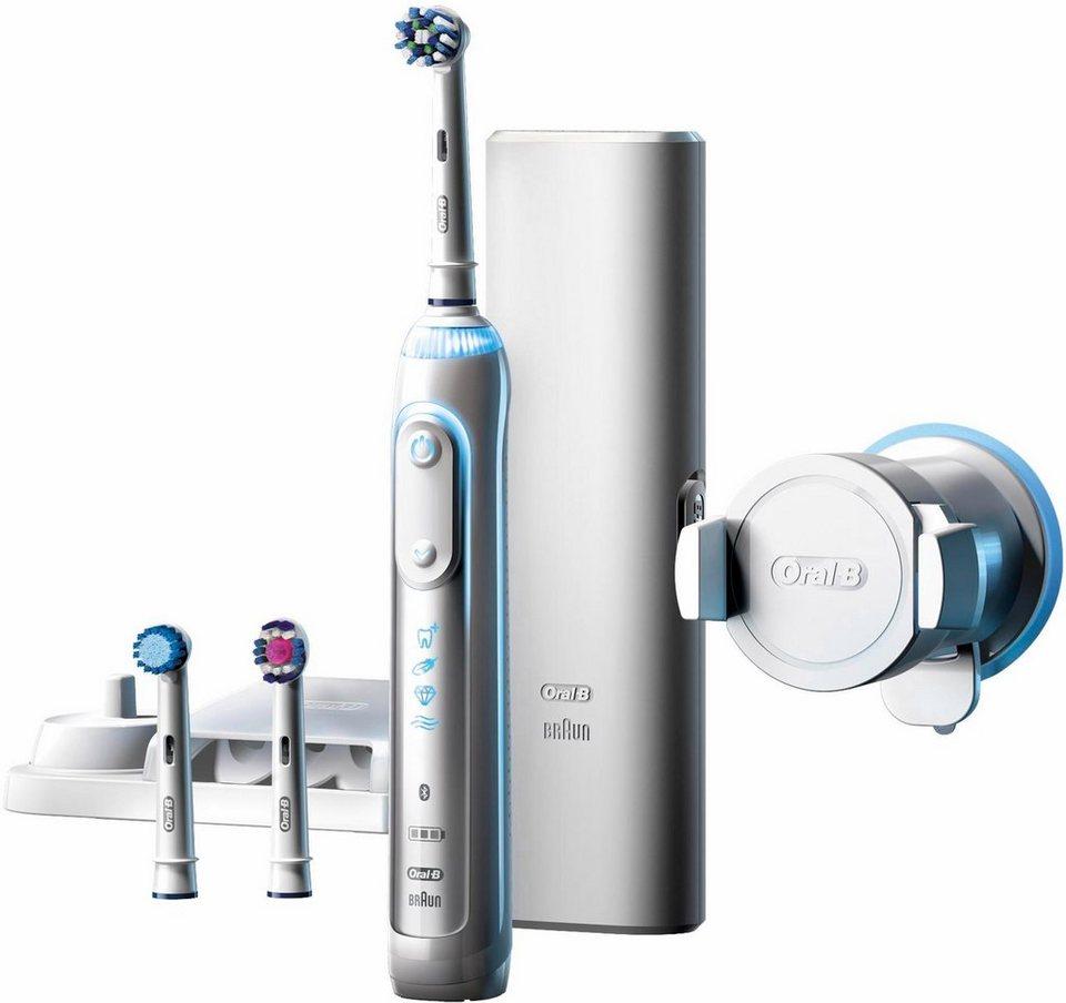 Oral-B Elektrische Zahnbürste Genius 8000 in weiß