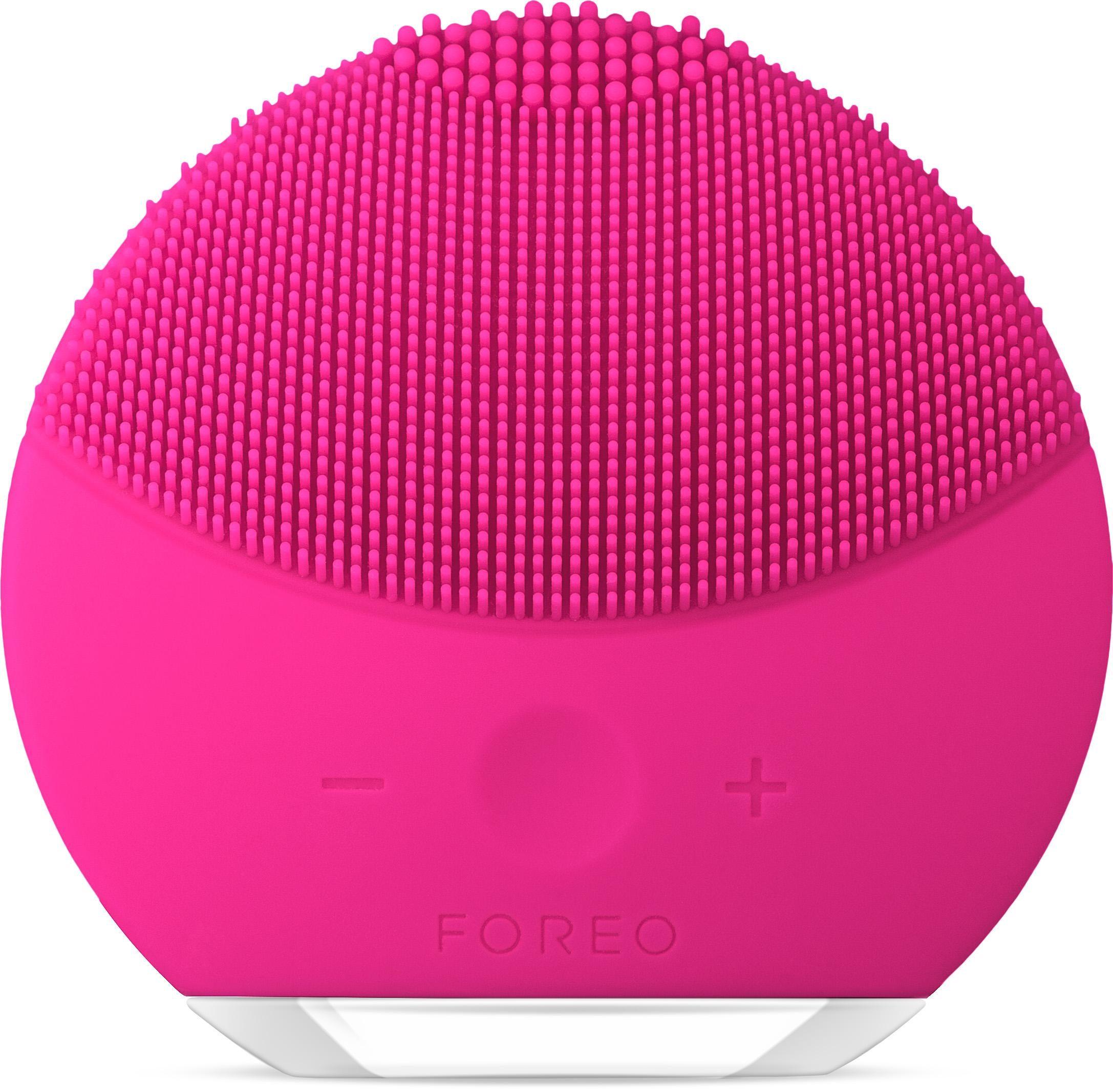 Foreo Gesichtsreinigungsbürste LUNA™ mini 2 Fuchsia, Frische & individualisierbare Reinigung