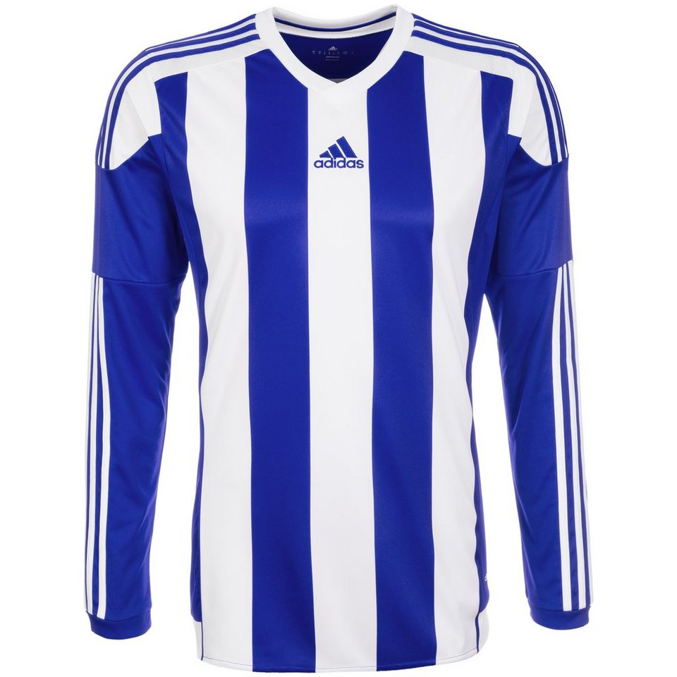 adidas Performance Striped 15 Fußballtrikot Herren in blau / weiß
