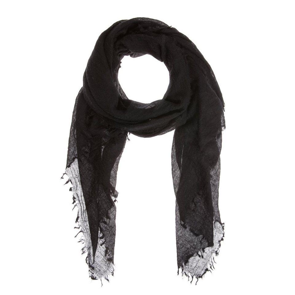 CODELLO Softer Kaschmir-Schal in schwarz