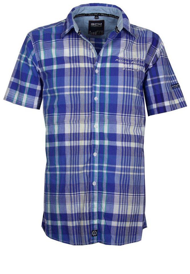 GCM Kurzarmhemd in Blau