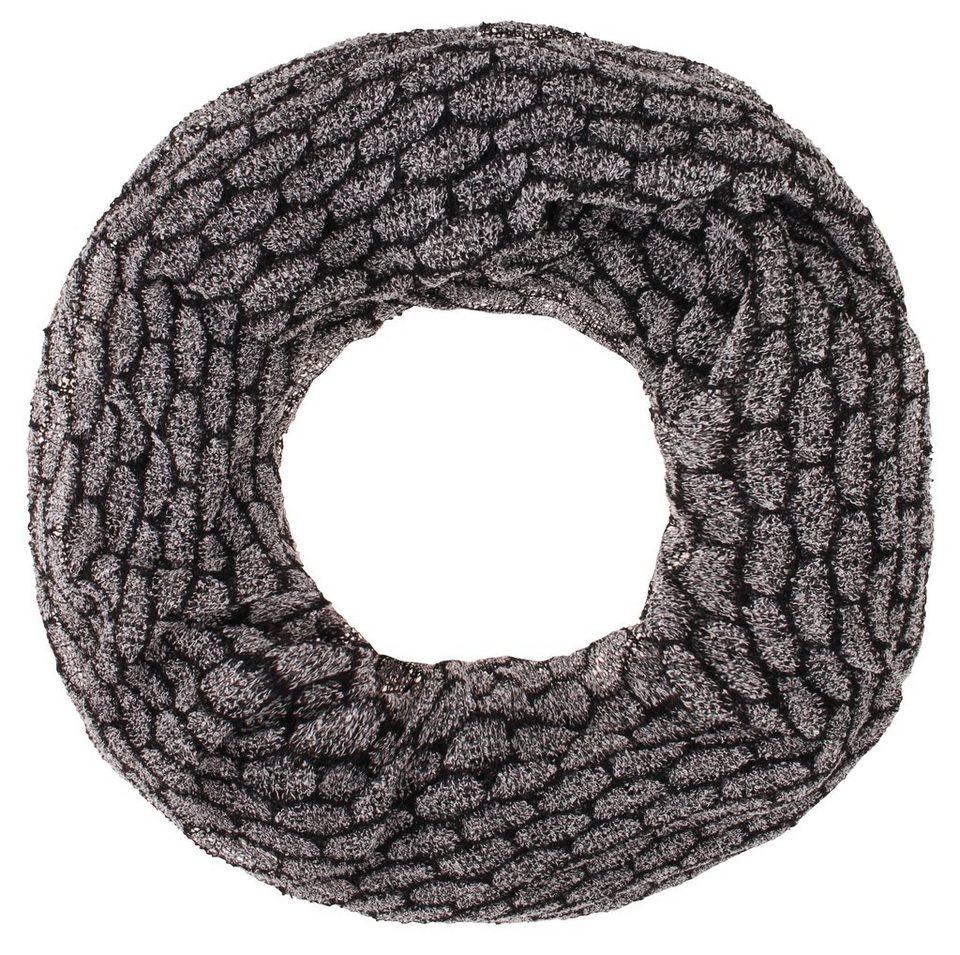 Usha Schal in schwarz