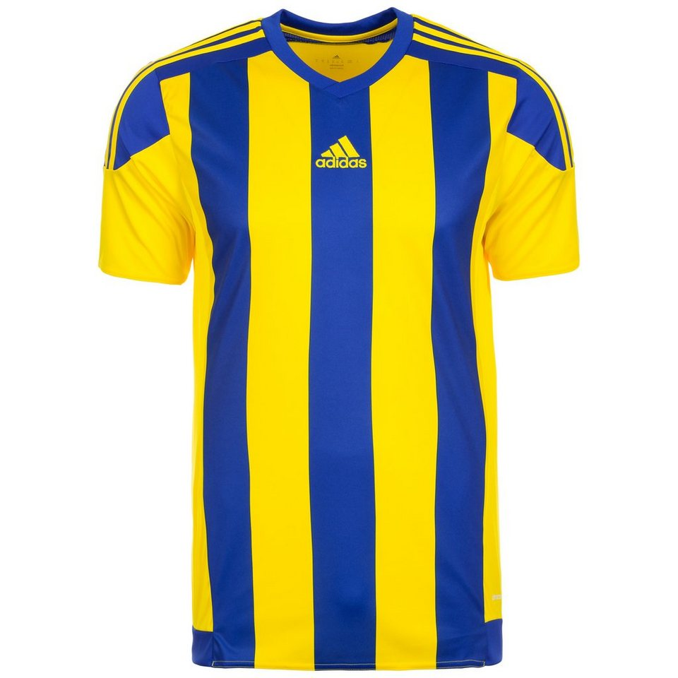 adidas Performance Striped 15 Fußballtrikot Herren in gelb / blau