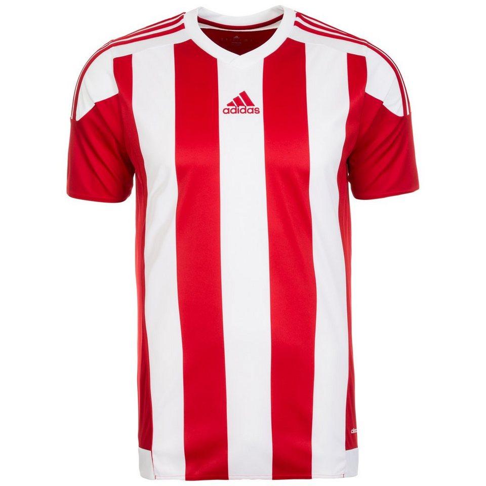 adidas Performance Striped 15 Fußballtrikot Herren in rot / weiß