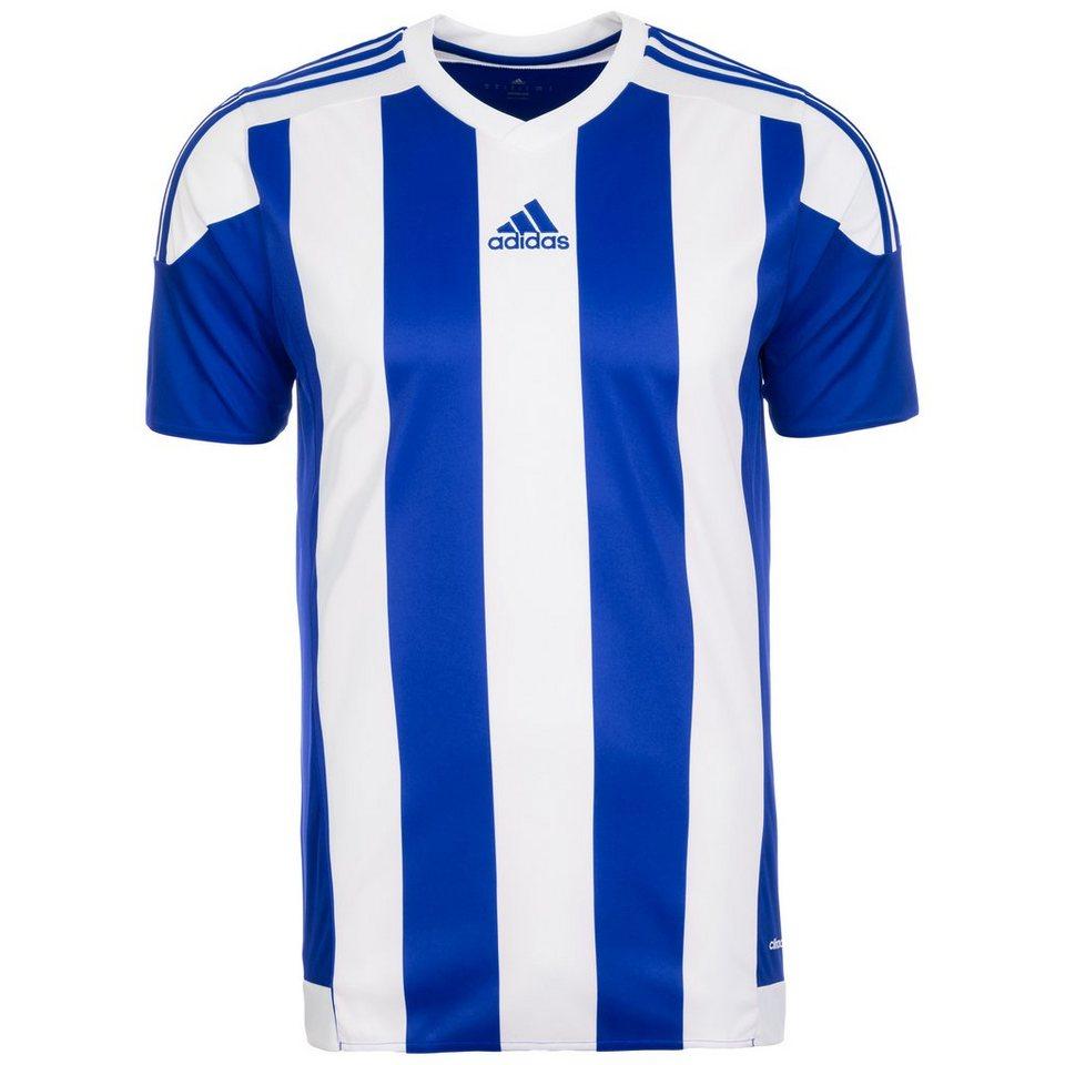 adidas Performance Striped 15 Fußballtrikot Herren in blau / weiß