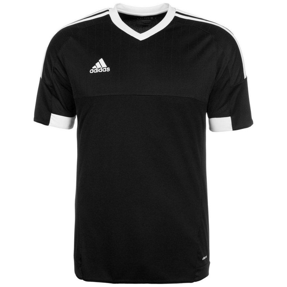 adidas Performance Tiro 15 Fußballtrikot Herren in schwarz / weiß