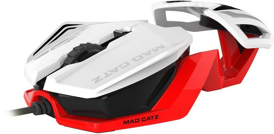 Mad Catz R.A.T.1 Mouse in Weiß/Rot »(PC)«
