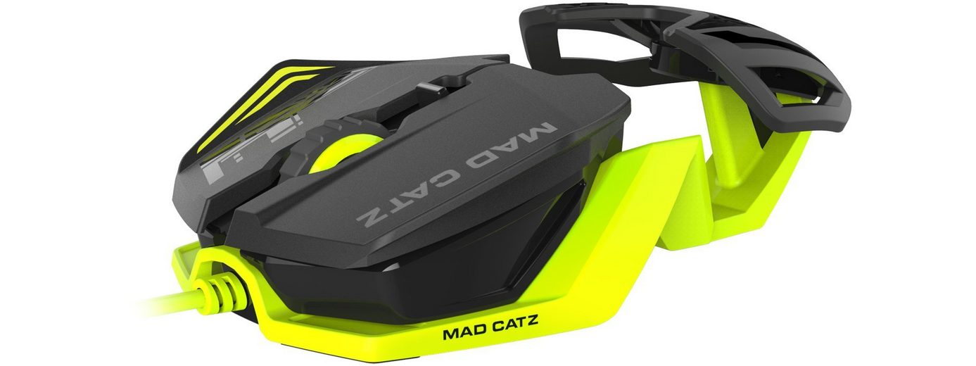 Mad Catz R.A.T.1 Mouse in Grün/Schwarz »(PC)«