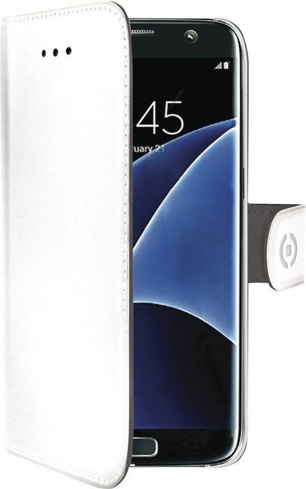 Celly Kunstledertasche passend für das Galaxy S7 edge »Wally Case« in weiß