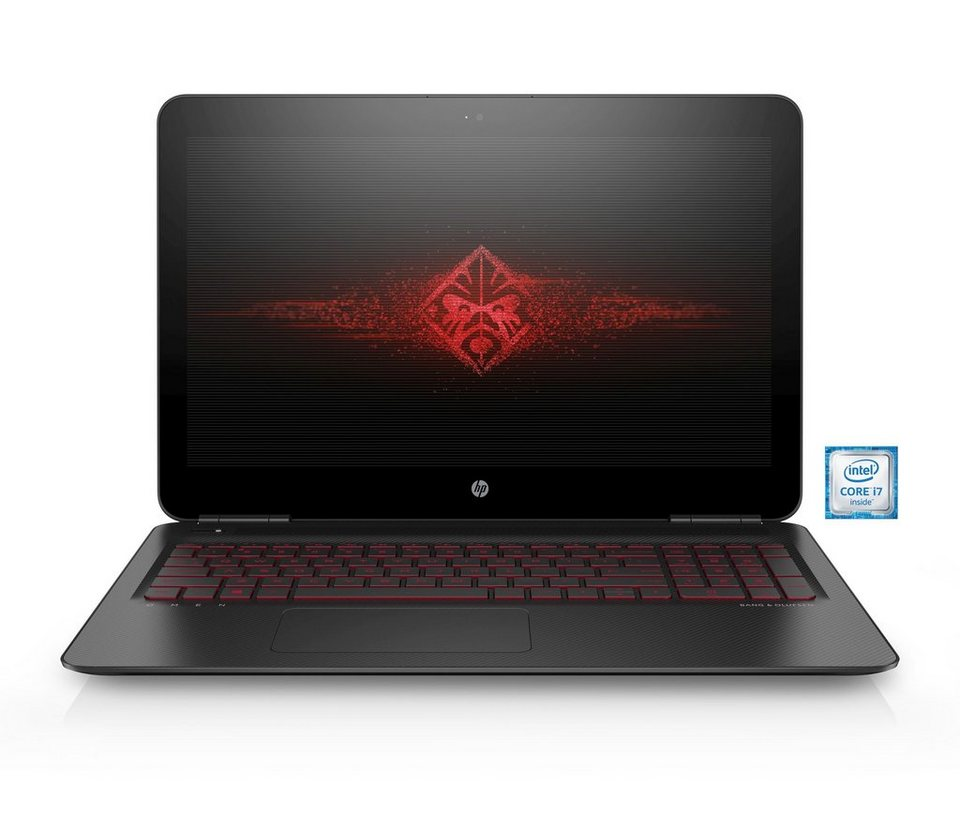 """HP Gaming OMEN by HP 15-ax006ng Notebook »Intel Core i7, 39,6cm (15,6""""), 128 GB + 2 TB, 16GB« in schwarz"""