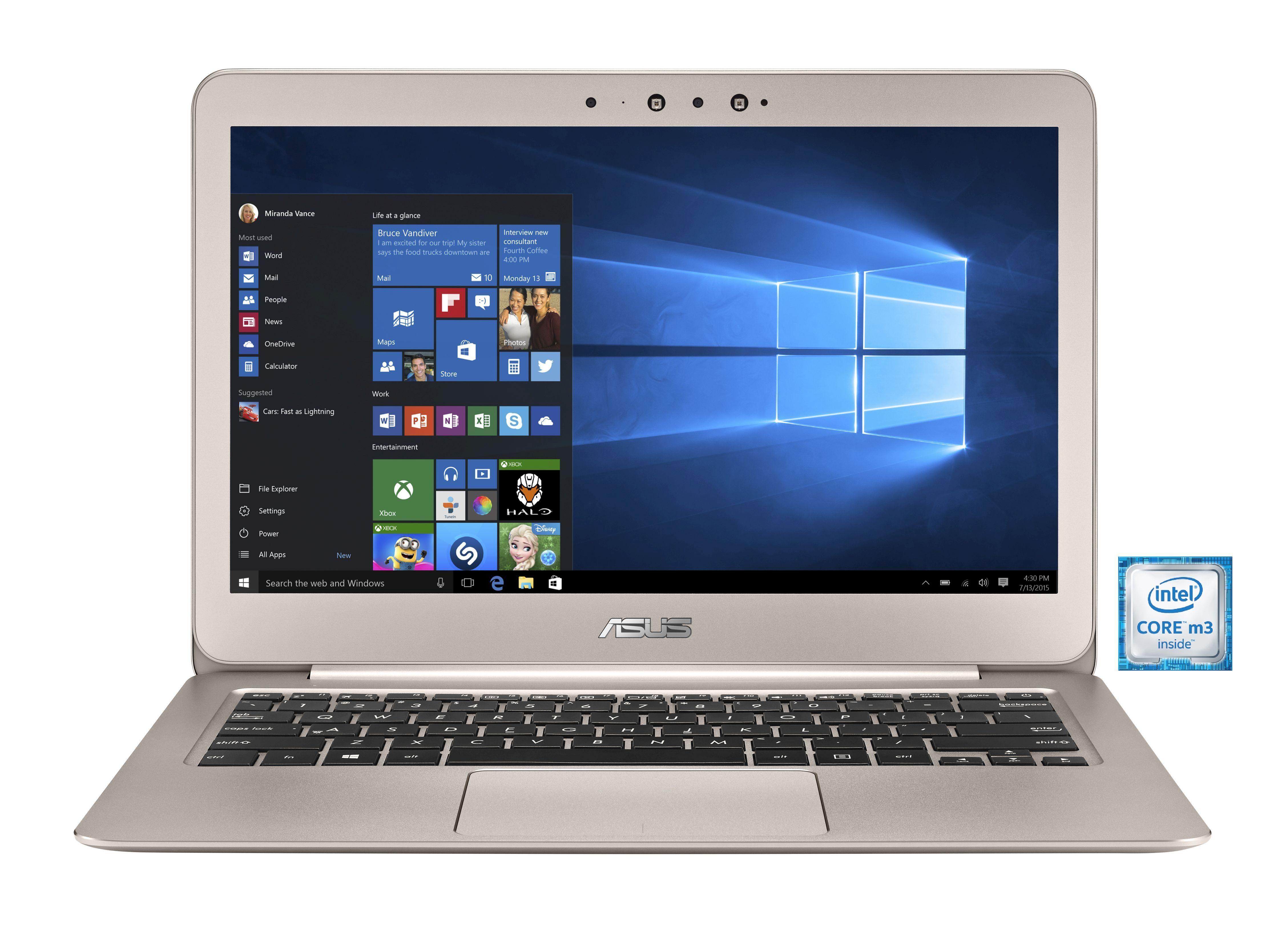 """ASUS UX305CA-FC196T Notebook »Intel Core M3, 33,7cm (13,3""""), 512 GB SSD, 8 GB«"""