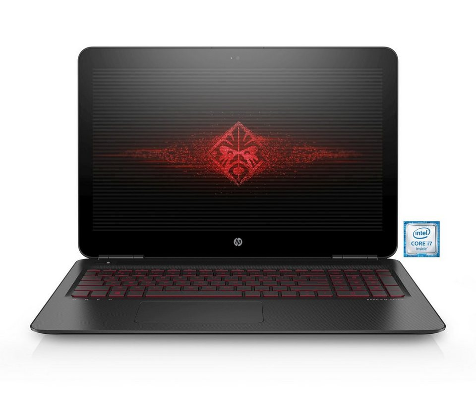 "HP Omen 17-w008ng Gaming Notebook »Intel Core i7, 43,9cm (15,6""), 128 GB + 2 TB, 16GB« in schwarz"