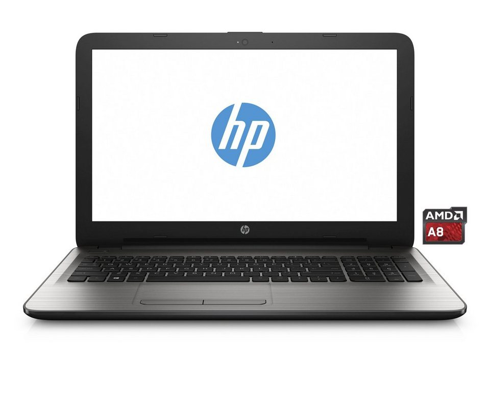 "HP 15-ba013ng Notebook »AMD A8 Quad-Core, 39,6cm (15,6""), 1TB SSHD, 4 GB« in silber"